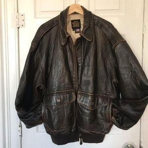 VINTAGE Rare Avirex Leather Jacket